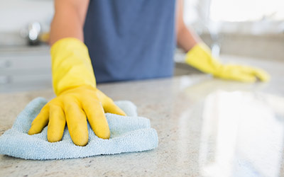 Surface cleaning  for Dental Infection Control